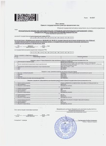 Стиль - лист записи ЕГРЮЛ от 11.02.2015